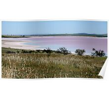 Salt Lake - Lochiel - South Australia Poster