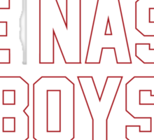 The Nasty Boys Sticker