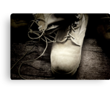 Boots on the Ground Canvas Print