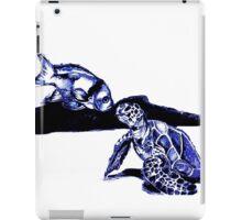 Turtle and fishy friend iPad Case/Skin