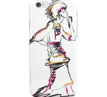 Abstract fashion girl iPhone Case/Skin
