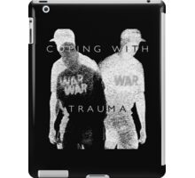 Psychmaster Coping With Trauma BW LG iPad Case/Skin