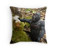 Ken N Barbie again Throw Pillow
