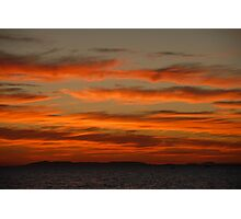 You Yangs sunset #015 Photographic Print