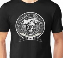 Chef Skull 3.1: Culinary Genius Unisex T-Shirt
