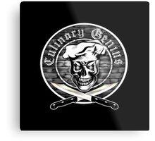 Chef Skull 3.1: Culinary Genius Metal Print