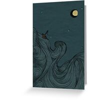 A Midnight Voyage Greeting Card