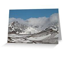 Granite Peak  Greeting Card