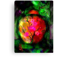 Silk Urn Canvas Print