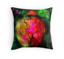 Silk Urn Throw Pillow