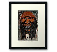 Apache Framed Print