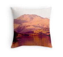 Ben Lomond Evening Throw Pillow