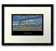 Ozone Layer Framed Print