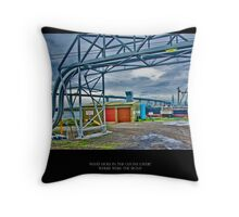 Ozone Layer Throw Pillow