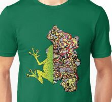 Psychedelly Frog Unisex T-Shirt