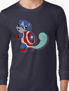 CaptainSquirtle Long Sleeve T-Shirt