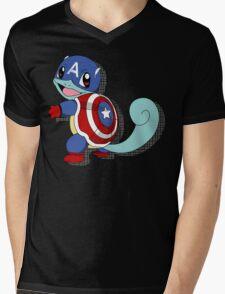 CaptainSquirtle Mens V-Neck T-Shirt
