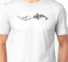 Yin Yang Kissing Koi Unisex T-Shirt