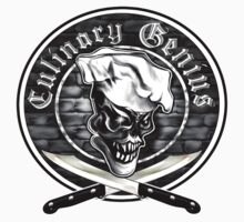 Chef Skull 5: Culinary Genius One Piece - Short Sleeve