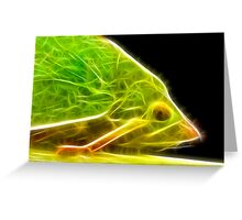 Green Hopper F2 Greeting Card