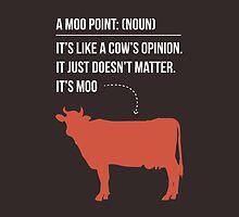 Moo Point - Joey Tribbiani by 4ogo Design