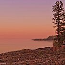 Sunset on Silver Bay by Mike Griffiths