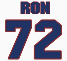 National Hockey player Ron Hextall jersey 72 by imsport