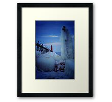 Ice Reaper Framed Print