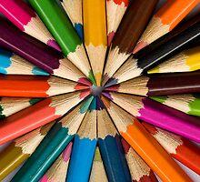 Pencils 1 by Malcolm Garth