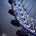 Luminescent London Eye by heyitsnicole