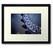 Luminescent London Eye Framed Print