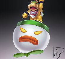 Bowser Jr by hybridmink