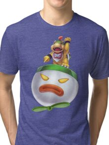 Bowser Jr Tri-blend T-Shirt