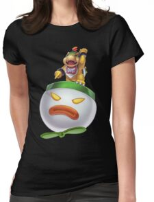 Bowser Jr Womens Fitted T-Shirt