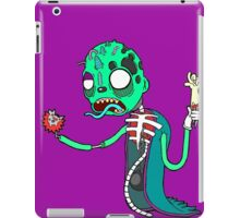 Carnihell #6 green saw man iPad Case/Skin