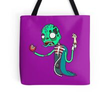 Carnihell #6 green saw man Tote Bag