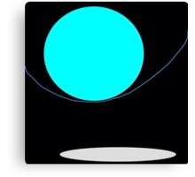 BLUE MOON NIGHT Canvas Print