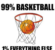 99% BASKETBALL 1% EVERYTHING ELSE by Divertions