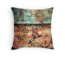 Rusty 44 Throw Pillow