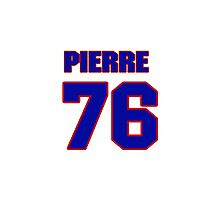 National Hockey player Pierre-Cedric Labrie jersey 76 Photographic Print