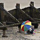 By the seaside by Richard Flint