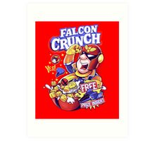Falcon Crunch Art Print