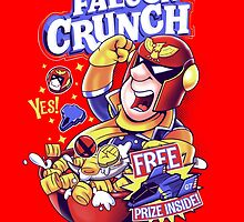 Falcon Crunch by KindaCreative