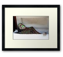 Another Night Another Fright!  Framed Print