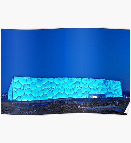 Watercube Poster