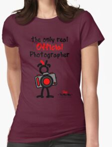 Red - The New Guy - The only real Official Photographer Womens Fitted T-Shirt