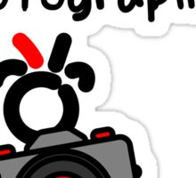 Red - The New Guy - The only real Official Photographer Sticker