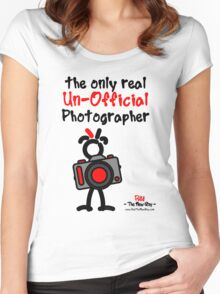Red - The New Guy - The only real Un-Official Photographer Women's Fitted Scoop T-Shirt
