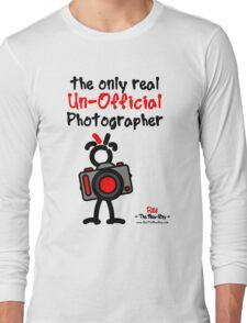 Red - The New Guy - The only real Un-Official Photographer Long Sleeve T-Shirt