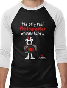 Red - The New Guy - The only real Photographer around here .. Men's Baseball ¾ T-Shirt
